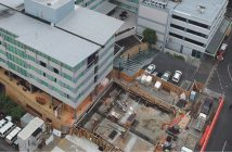 Construction of the 40 room extension at Novotel Tainui Hamilton.