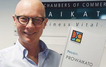 Waikato Chamber of Commerce chief executive Chris Simpson.