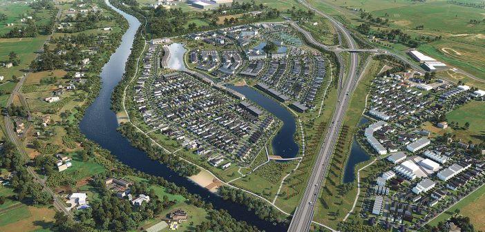 Te Awa Lakes is a mixed-use master planned development that will act as a highly visible gateway to the city.