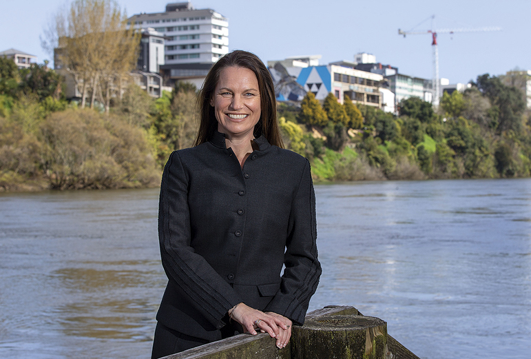 Vanessa Williams says central Hamilton development is responding to national  and international trends, including opening up spaces. Photo: Peter Drury