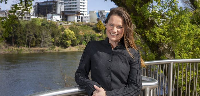 Vanessa Williams loves having the Waikato River as a natural resource in the CBD. Photo: Peter Drury