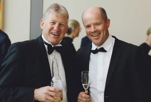 Jon Tanner from Craigs Investment Partners, and Andrew Flexman from Forsyth Barr.