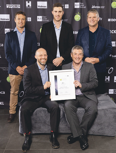 VEROS PROPERTY SERVICES JUDGES' CHOICE AWARD The Ingham's Breeder Project Team – Te Mawhai