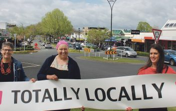 Karen May, Kelly Bouzaid and Aroha Croft want locals to play their part.