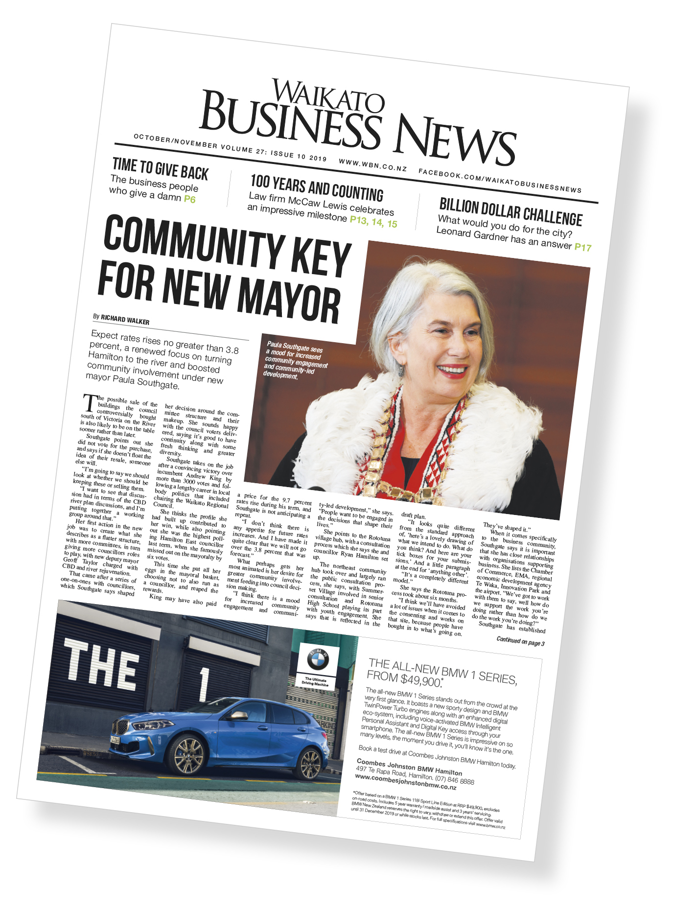 Waikato Business News October 2019