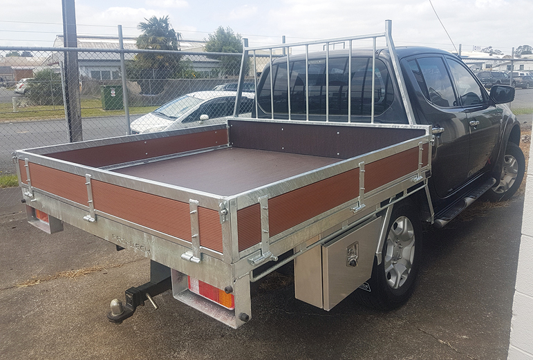 Another custom Prodeck ute ready for despatch.
