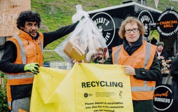 Fieldays 2019 recycling initiatives with Te Radar.