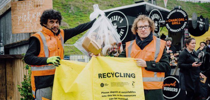Fieldays 2019 recycling initiatives with Te Radar.