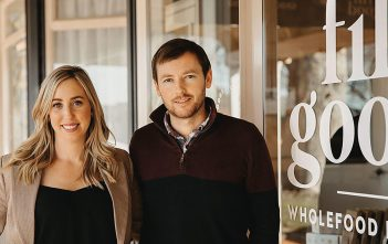 Fill Good store owners Catlyn and Scott Calder.