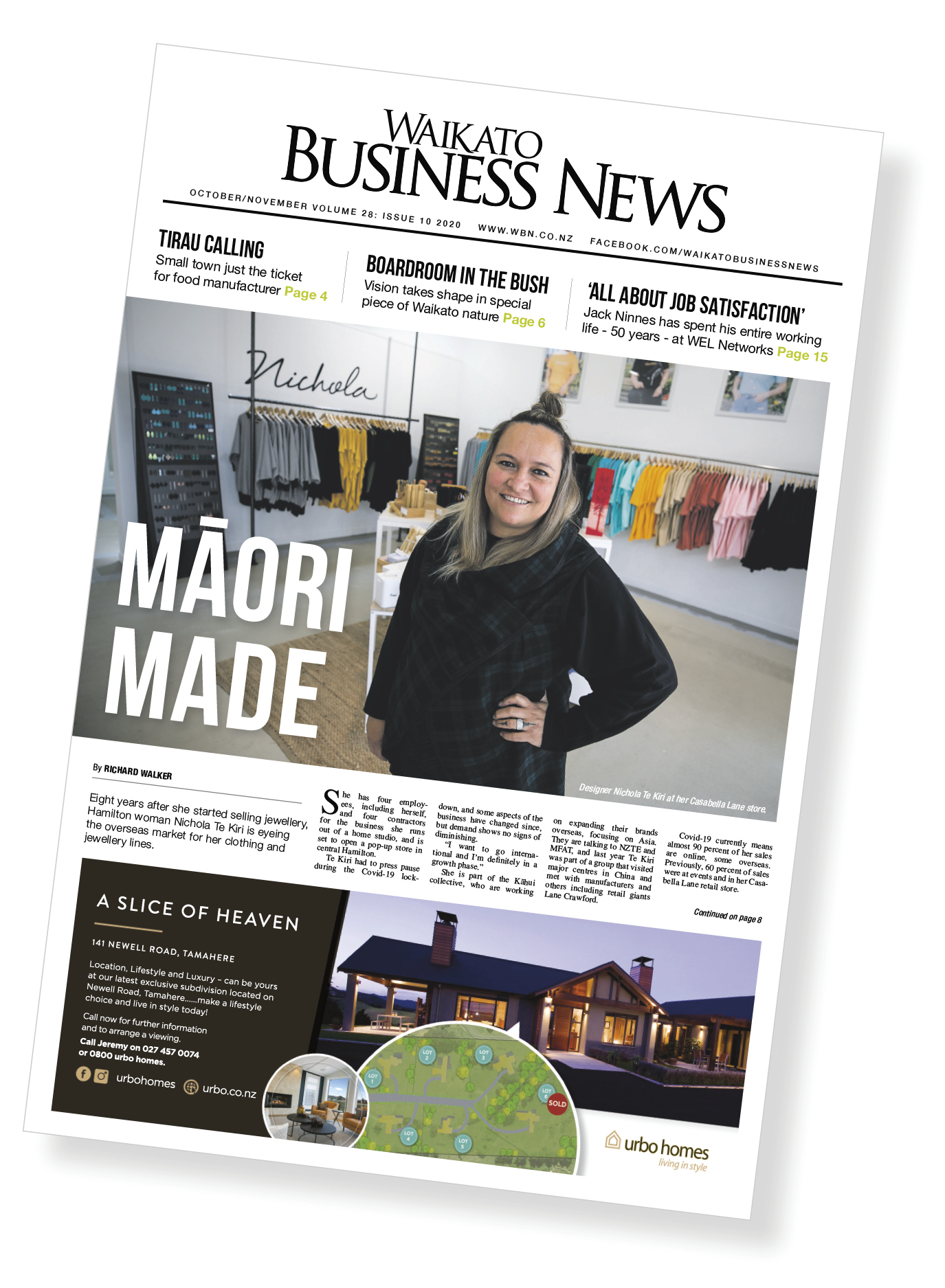 Waikato Business News October/November 2020