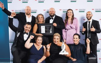 Supreme winners Civtec also took home the Business Growth and Strategy award. Photos: Barker Photography