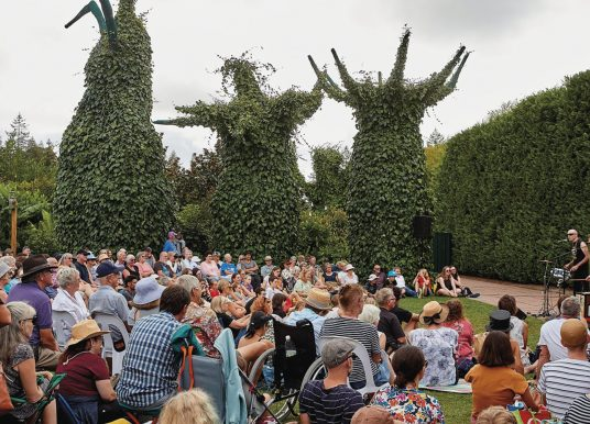 Gardens Arts Festival secures future