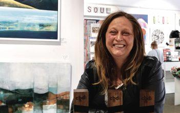 Lisa Voigt loves supporting emerging artists