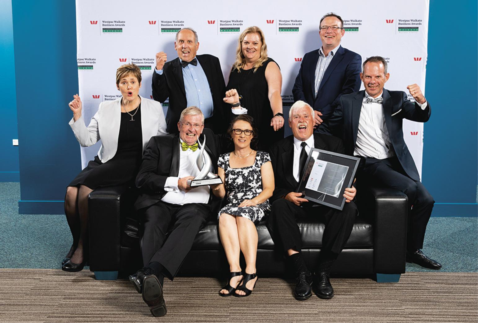Social and Environmental Sustainability winners Fieldays Society