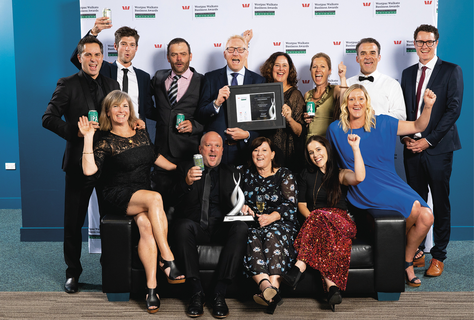 Marketing and Social Media award winners Good George