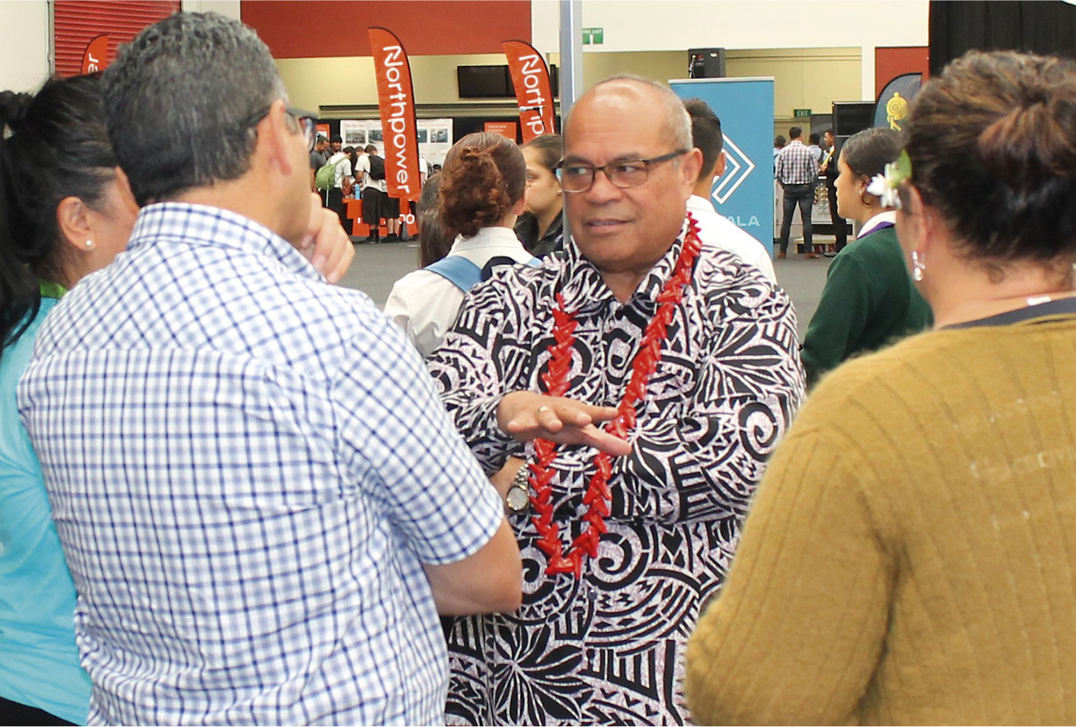 Minister for Pacific Peoples Aupito William Sio at the event