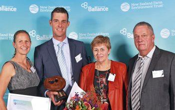 Supreme winners Kylie, Johan, Truus and Richard van Ras.