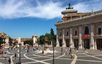 Piazza del Campadoglio in Rome