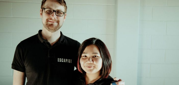 Escapist co-founders Pam Ariestia and Geoff Carr
