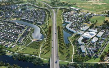 Te Awa Lakes will be a gateway to the city.