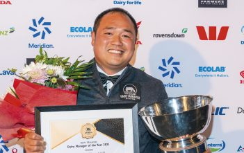Dairy Manager of the Year Christopher Vila