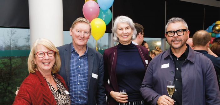 Maxine van Oosten, Barry Harris, Paula Southgate and Jason Dawson